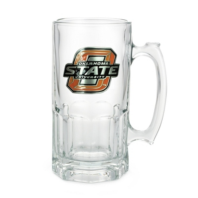 Oklahoma State University 34oz Moby Beer Mug - Flasks & Beer Mugs