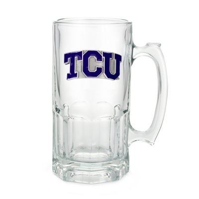 Texas Christian University 34oz Moby Beer Mug - UPC 825008257214