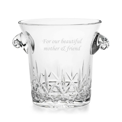 Cut Crystal Champagne Bucket - UPC 825008257375