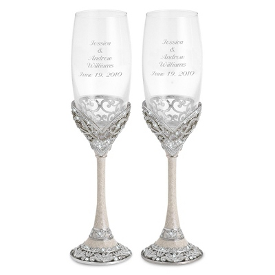Keepsake Wedding Flutes