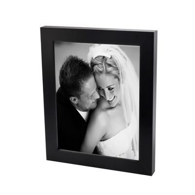8x10 Black & White Photo to Canvas with Classic Black Frame