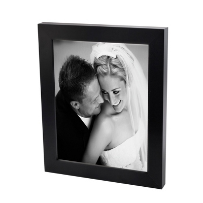 11x14 Black & White Photo to Canvas with Classic Black Frame - Wedding Frames & Albums