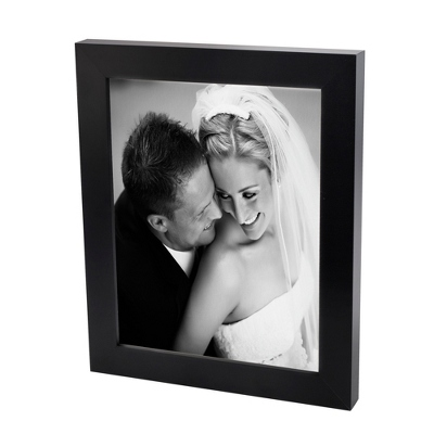 16x20 Black & White Photo to Canvas with Classic Black Frame - Wedding Frames & Albums