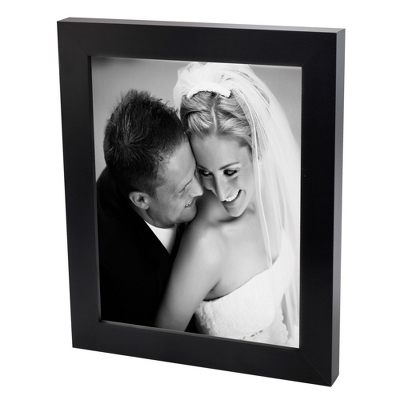 24x36 Black & White Photo to Canvas with Classic Black Frame - Wedding Frames & Albums