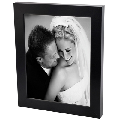 30x40 Black & White Photo to Canvas with Classic Black Frame - Wedding Frames & Albums
