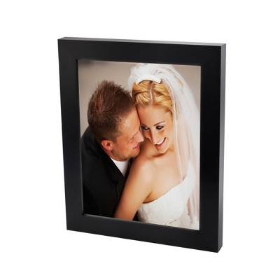 8x10 Color Photo to Canvas with Classic Black Frame