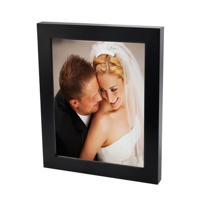 11x14 Color Photo to Canvas with Classic Black Frame