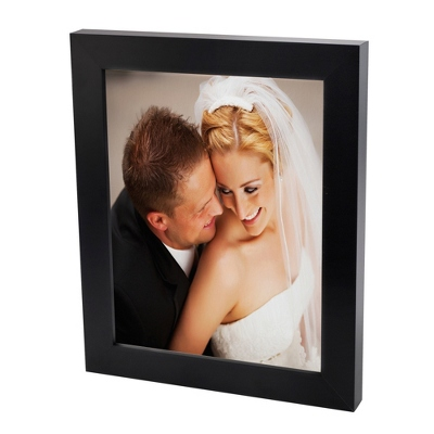 18x24 Color Photo to Canvas with Classic Black Frame