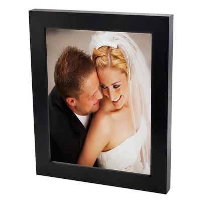 24x36 Color Photo to Canvas with Classic Black Frame