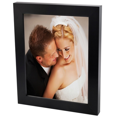 30x40 Color Photo to Canvas with Classic Black Frame