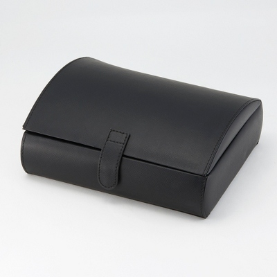 Personalized Leather Jewelry Box for Men