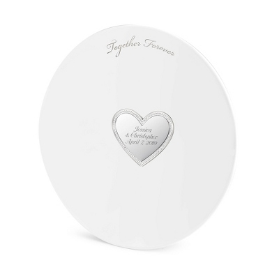 Engraved Wedding Gift Plate