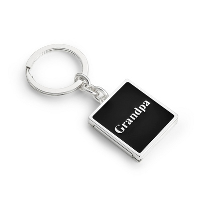 Personalized Locket Keychain