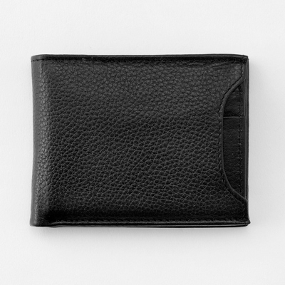 Removable ID Protection Wallet with complimentary Secret Message Card - Men's Accessories