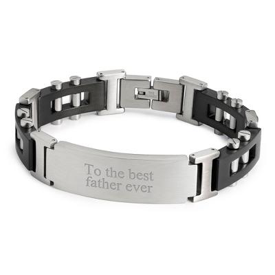 Lug Nut ID Bracelet with complimentary Tri Tone Valet Box