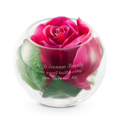 Engraved Rose Gifts