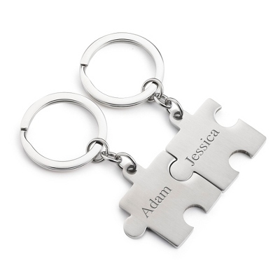 Puzzle Key Chain Set