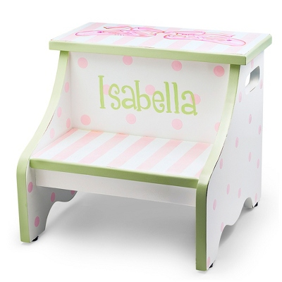 Ballet Hand-painted Stool