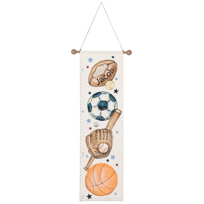 Sports Hand-painted Growth Chart