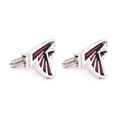 Atlanta Falcons Cuff Links with complimentary Weave Texture Valet Box