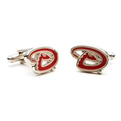Arizona Diamondback Cuff Links with complimentary Weave Texture Valet Box - $60.00