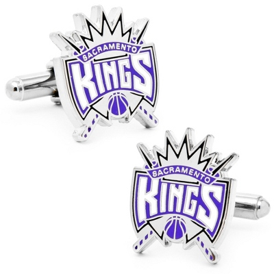 Sacramento Kings Cuff Links with complimentary Weave Texture Valet Box - UPC 825008264823