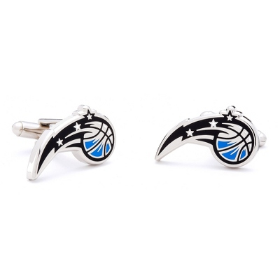Orlando Magic Cuff Links with complimentary Weave Texture Valet Box