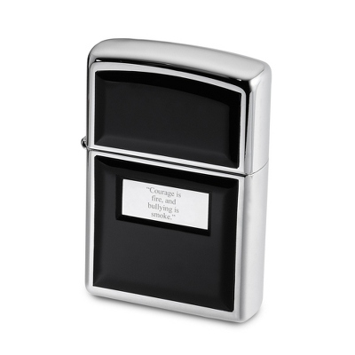 Zippo Ultra Light Black Lighter - Men's Accessories
