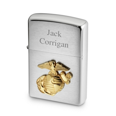 Zippo Marines Lighter - Men's Accessories