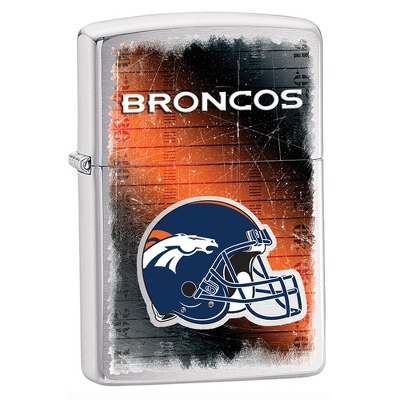 Denver Broncos Zippo Lighter - Men's Accessories