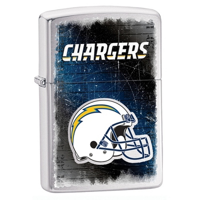 San Diego Chargers Zippo Lighter - Men's Accessories