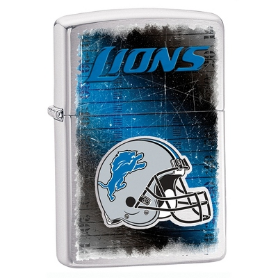 Detroit Lions Zippo Lighter - Men's Accessories