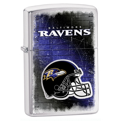 Baltimore Ravens Zippo Lighter - Men's Accessories