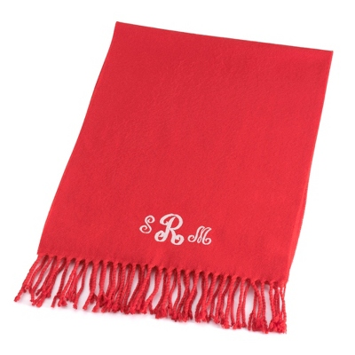 Comfy Red Scarf - $15.99