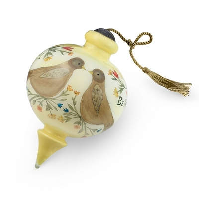 Two Become One Hand-painted Ornament