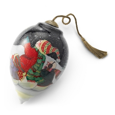 Wish Upon a Star Hand-painted Ornament - UPC 825008266834