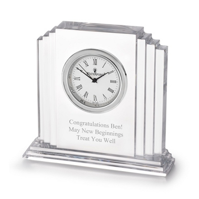 Engravable Clocks with Crystals - 20 products