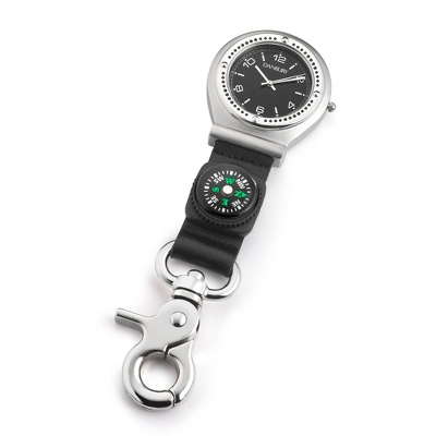 Clip Watch with Compass - Men's Accessories