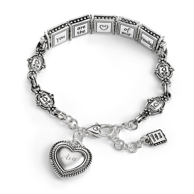 Expressions Mom Bracelet with complimentary Filigree Oval Box