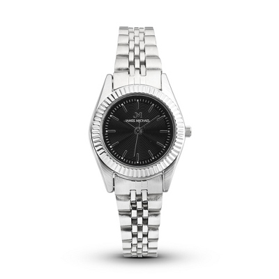 Personalized Ladies Watch with Black Dial