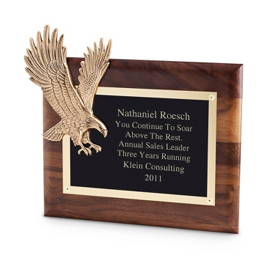 Soaring Eagle Plaque - UPC 825008273689