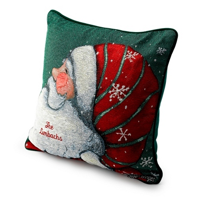 Santa Pillow - Christmas Throws & Pillows