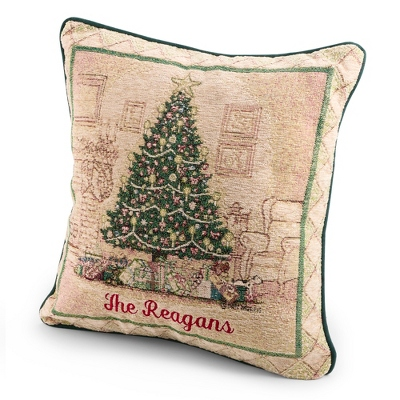 Christmas Elegance Pillow - Holiday Decor