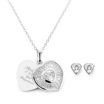 Heart Gift Set with complimentary Filigree Heart Box