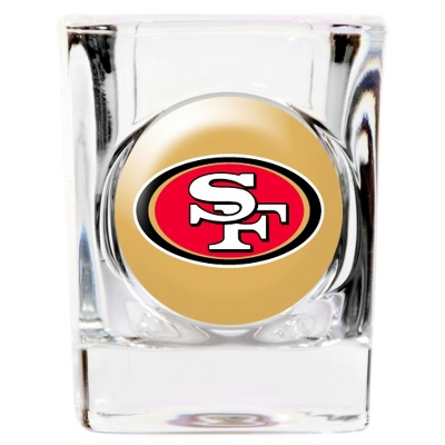 San Francisco 49ers Shot Glass - UPC 825008277656