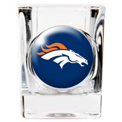 Denver Broncos Shot Glass - UPC 825008277694