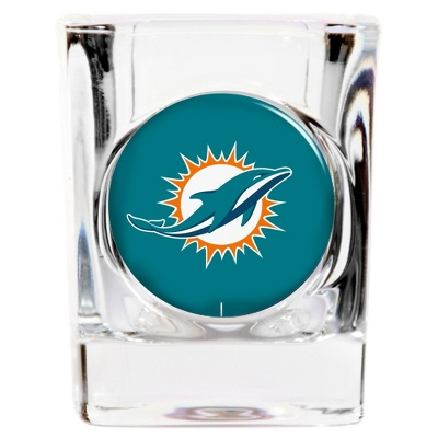 Miami Dolphins Shot Glass - UPC 825008277779