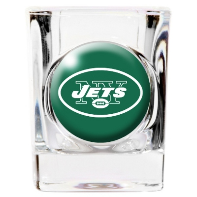New York Jets Shot Glass - UPC 825008277823