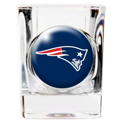 New England Patriots Shot Glass - UPC 825008277861