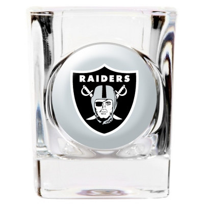 Oakland Raiders Shot Glass - UPC 825008277878